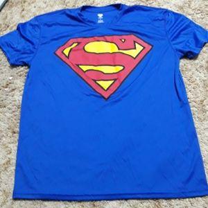 Mens superman tee shirt
